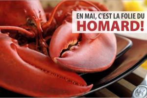 La folie du homard à la Brasserie Fleurimont