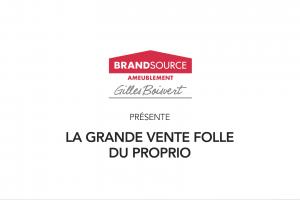 Gilles Boisvert Meubles - Grande vente folle du proprio