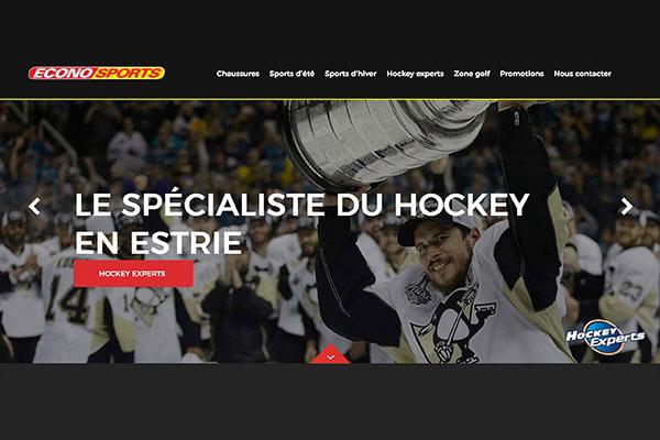 Site Web ÉconoSports Sherbrooke