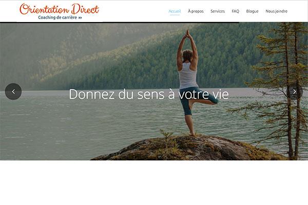 Site Web - Orientation Direct