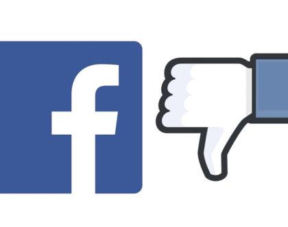 Facebook fait l'essai du nouveau bouton  «downvote»